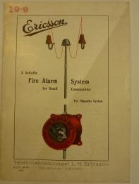 Ericsson Fire Alarm System 1930