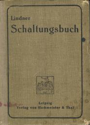 Lindner Schaltungsbuch 1922