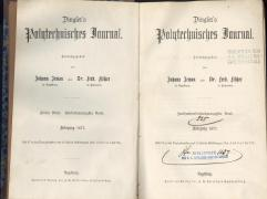 Dingler´s Politechnichesch Journal 1877