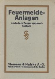 Siemens & Halske Feuermelde-Anlagen