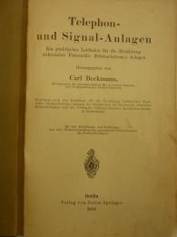 Telephon- und Signalanlagen Carl Beckmann