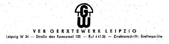 Gerätewerk Leipzig